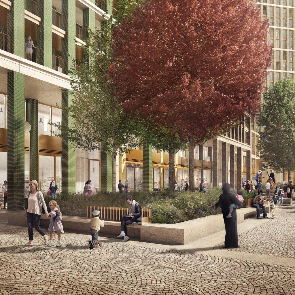 Hutchinson & Partners - Whitechapel Square Albion Walk Arboretum