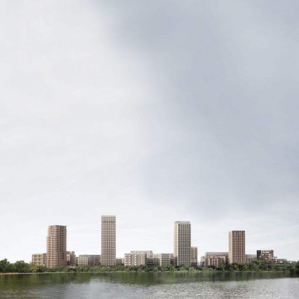 Hendon Waterside in NLA Tall Building Survey