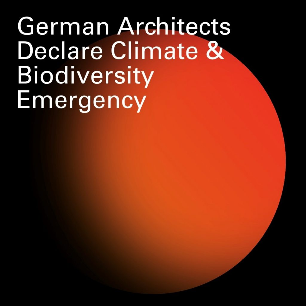 Supporting 'German Architects Declare'