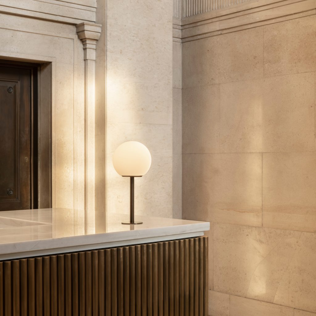 Hutchinson & Partners, Victoria House - Entrance Desk Detail