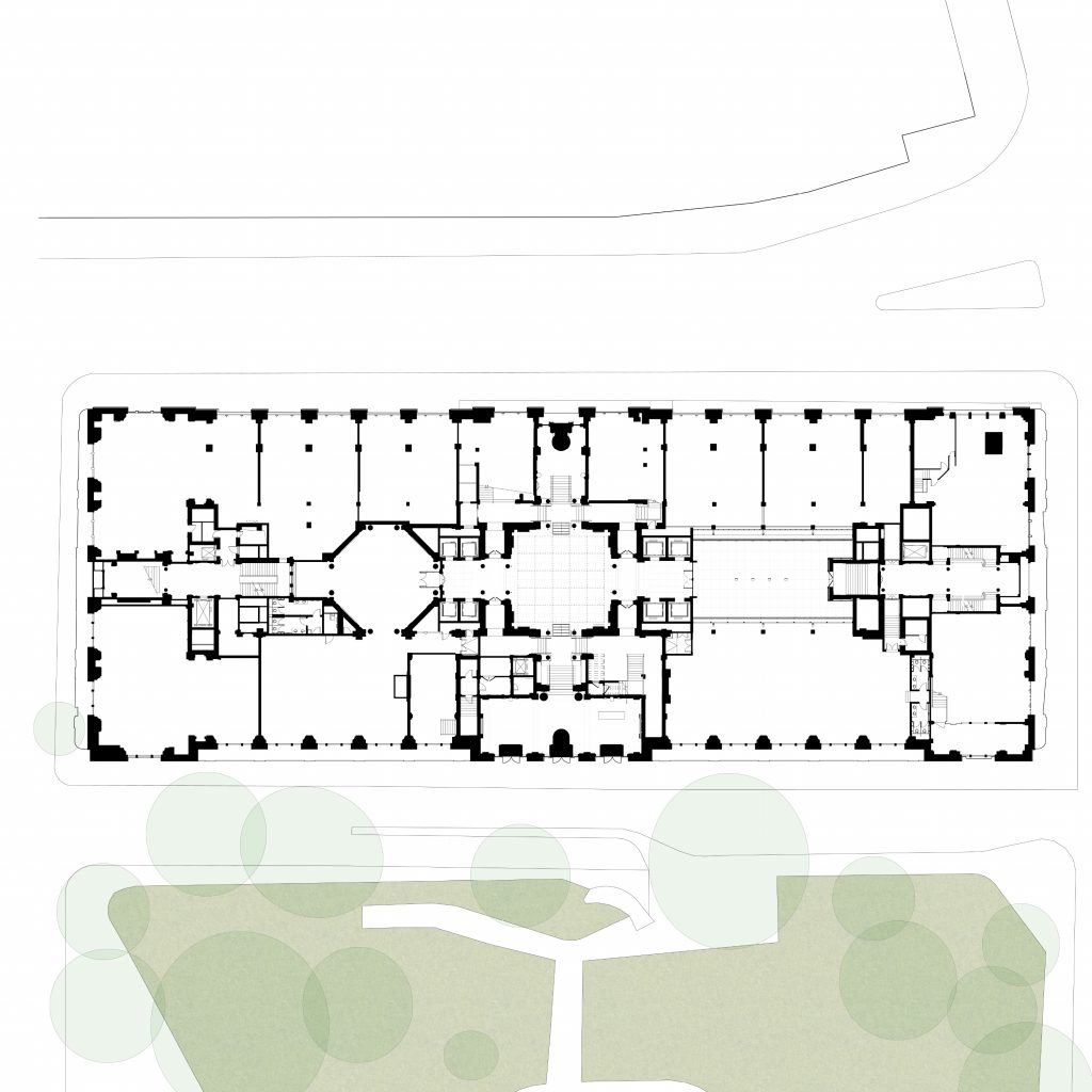 Hutchinson & Partners, Victoria House - GF Plan
