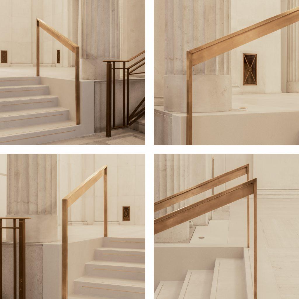 Hutchinson & Partners, Victoria House - Handrail Detail