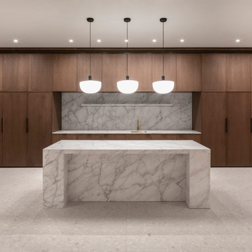 Hutchinson & Partners, Victoria House - Kitchen Island Elevation