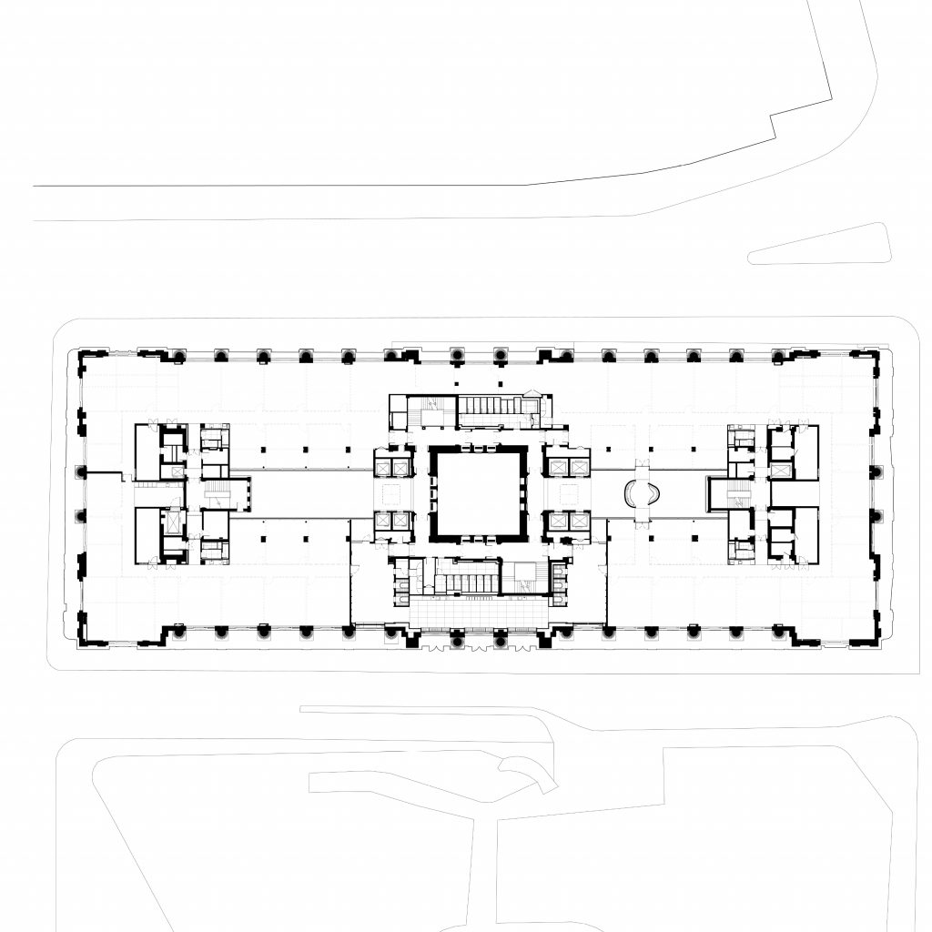Hutchinson & Partners, Victoria House - L02 Plan