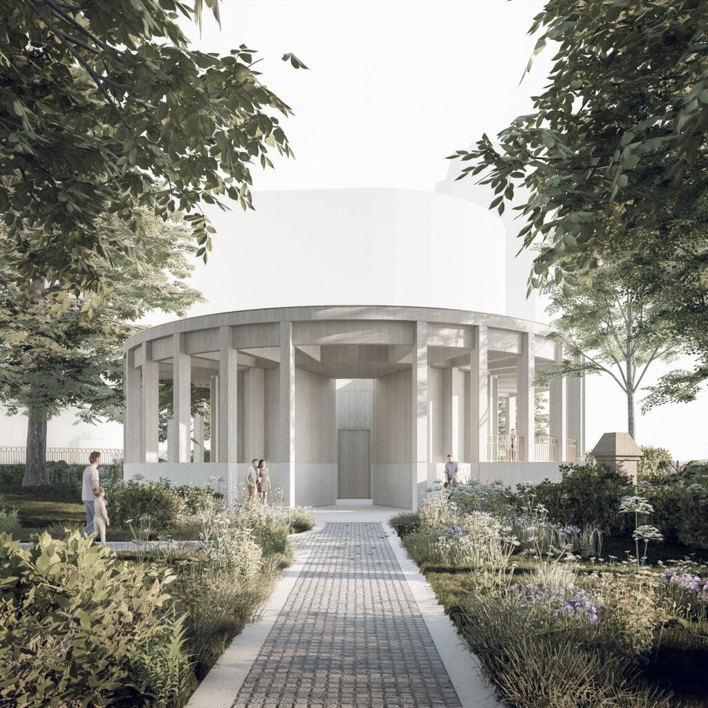 Garden Museum Pavilion, Lambeth